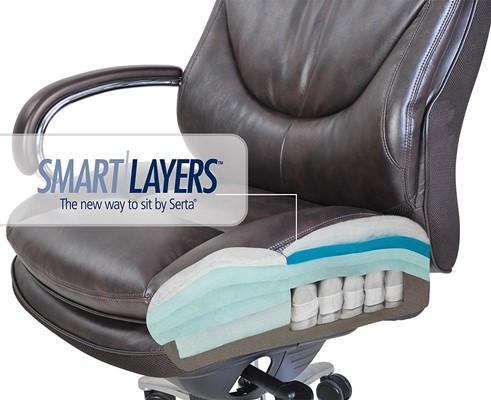 best chair for sciatica problems desk height top 10 office under 500 dollars updated 2018 serta 45637 posture