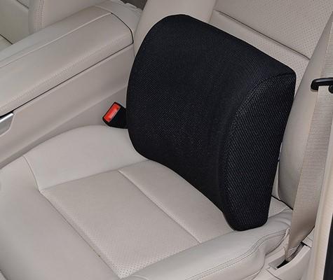 Okwu Comfort - lumbar support cushion placement