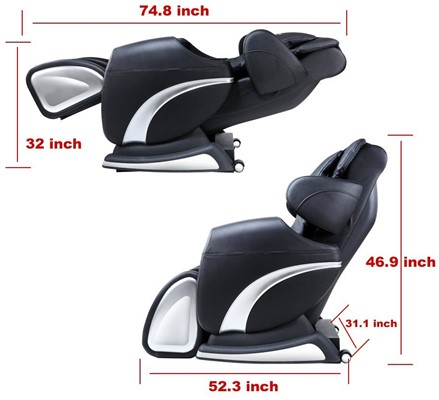 Real Relax - best massage chair zero gravity