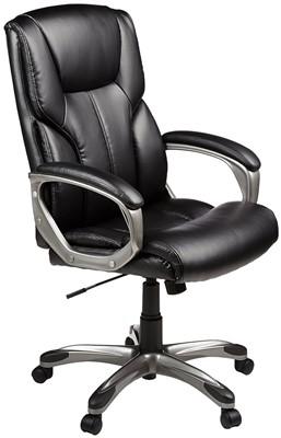 AmazonBasics High-Back Executive - Most comfortable desk chair