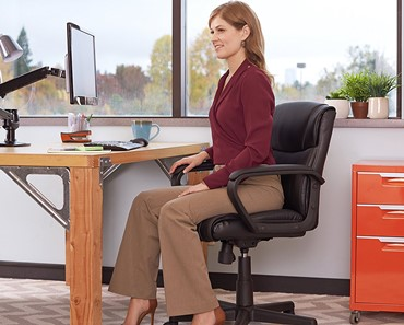 AmazonBasics Mid Back Chair - amazonbasics mid-back office chair
