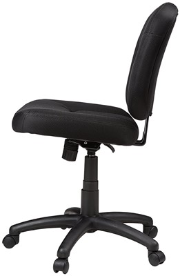 AmazonBasics Low-Back Task Chair - best office chair for leg circulation
