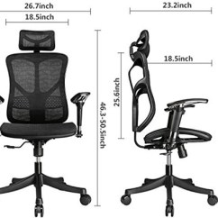 Office Chair Posture How To Make A Throne In Minecraft Top 10 Best Ergonomic Chairs Review For Neck Pain Updated 2018 Argomax Mesh With Support