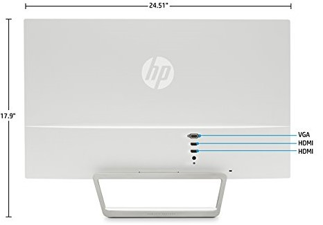 HP Pavilion 27xw 27-in IPS LED Backlit Monitor - hp pavilion 27xw refresh rate