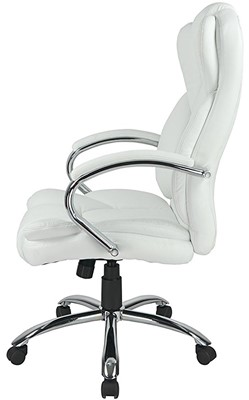 High Back PU Leather Executive Office Desk Task Computer Chair - Best executive leather office chair