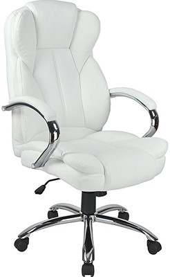 High Back PU Leather Executive Office Desk Task Computer Chair - Best high back office chair
