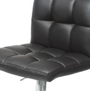 Roundhill Furniture Hydraulic Bar Stool - best bar stools with backs