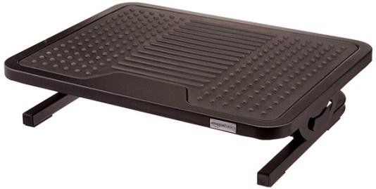AmazonBasics Foot Rest - footrest for computer desk benefits