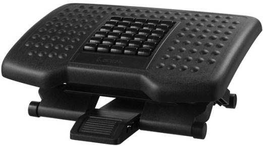 Kantek Premium Adjustable Footrest - footrest for your computer desk
