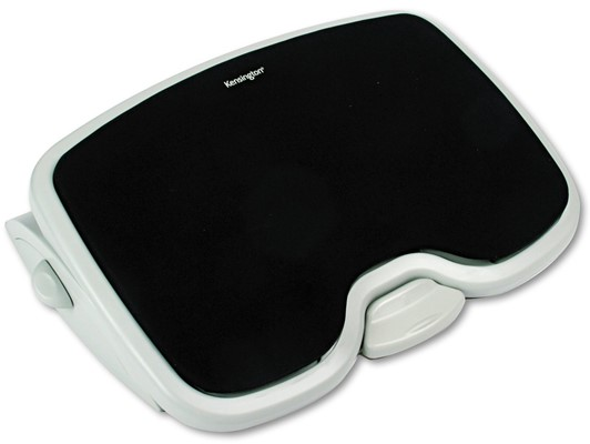 Kensington SoleMate Adjustable Footrest - foot rest under computer desk officeworks