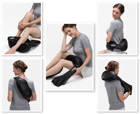 SunlitLife Cordless Shiatsu Massager - good neck and shoulder massager