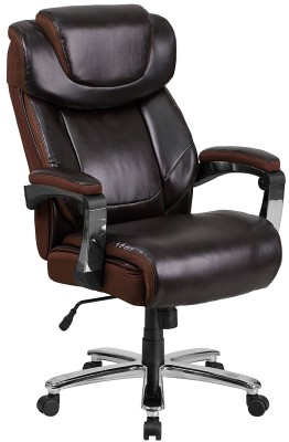Flash Furniture Hercules - correct posture for sitting in office chair for bloggers