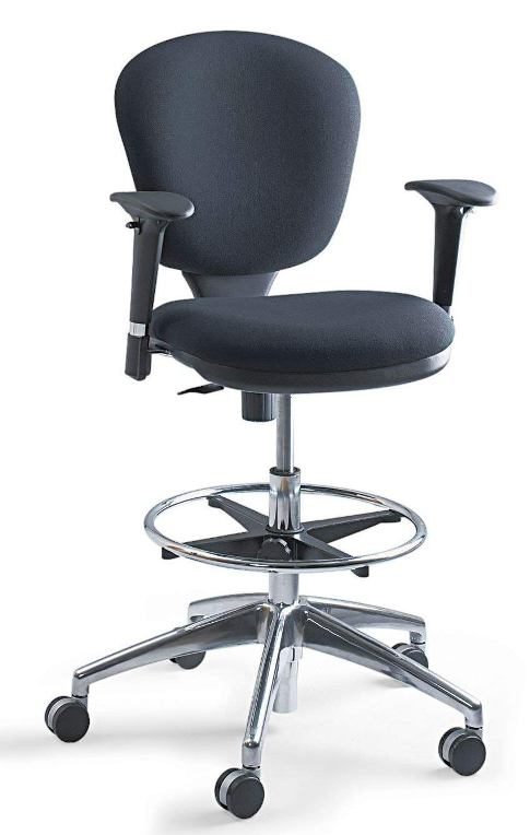 Safco Products 3442BL Chair- Best Drafting Chair for Standing Desk