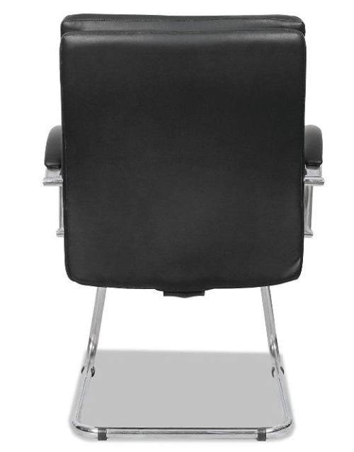 Alera Madaris Leather Guest Chair-Best Visitor Chair Reviews for Office
