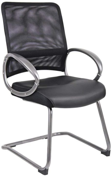 Boss Office Products B6409 Mesh Back Guest Chair-Top 10 Best Visitor Chair Reviews for Office