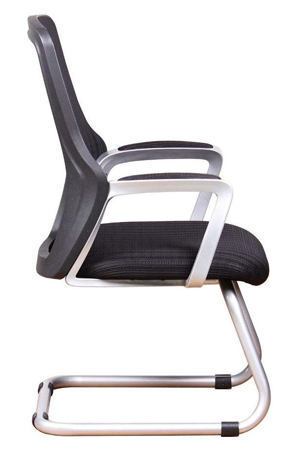 Office Factor Ergonomic Mesh Guest Chair-Best Visitor Chair Reviews for Office