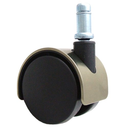 threaded chair glides babies r us rocking chairs and gliders caster wheels - bronze hood