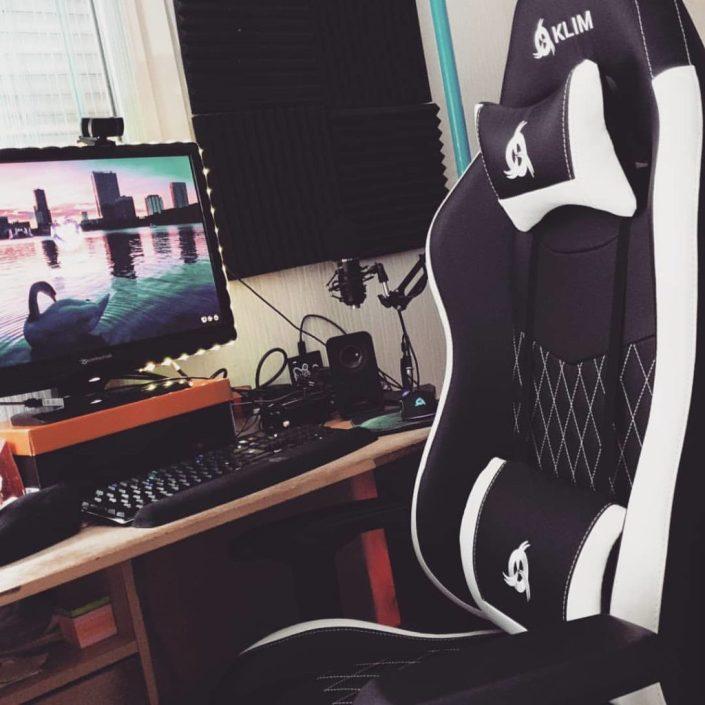 Klim eSports cinquième du top 10 fauteuils gamer