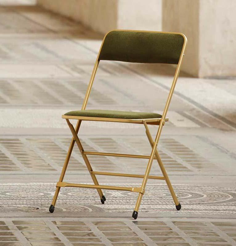 new design chaise pliante rembourree