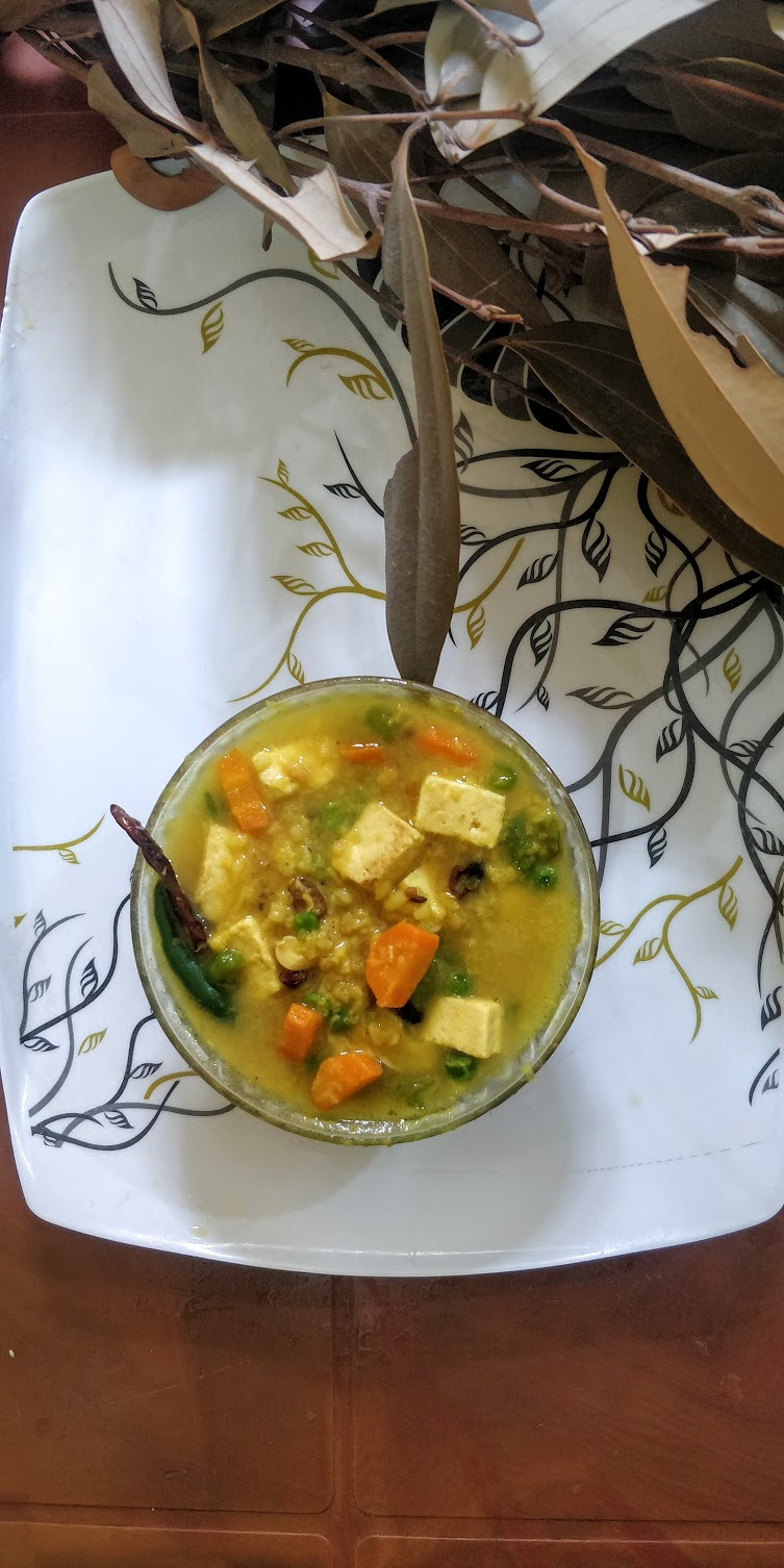 Special Mug Paneer Veg Dal For Kids| মুগ পানির ভেজ ডাল