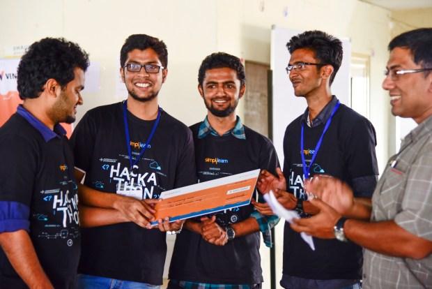 Team Tandem - The Winners of Simplihack!