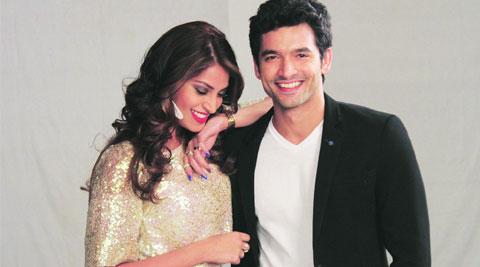 Diganth with Anushka Ranjan