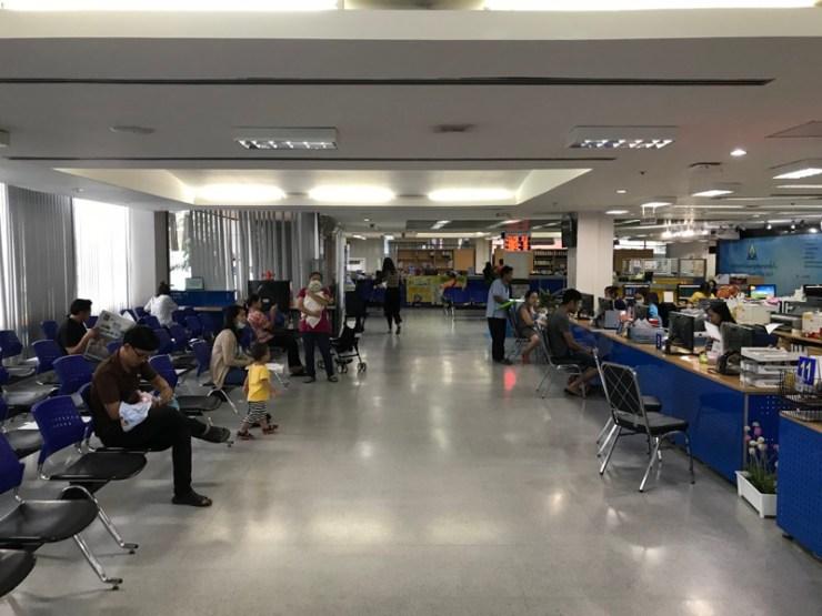 บรรยากาศ ชั้น 1 - สำนักงานประกันสังคมกรุงเทพมหานครพื้นที่ 8