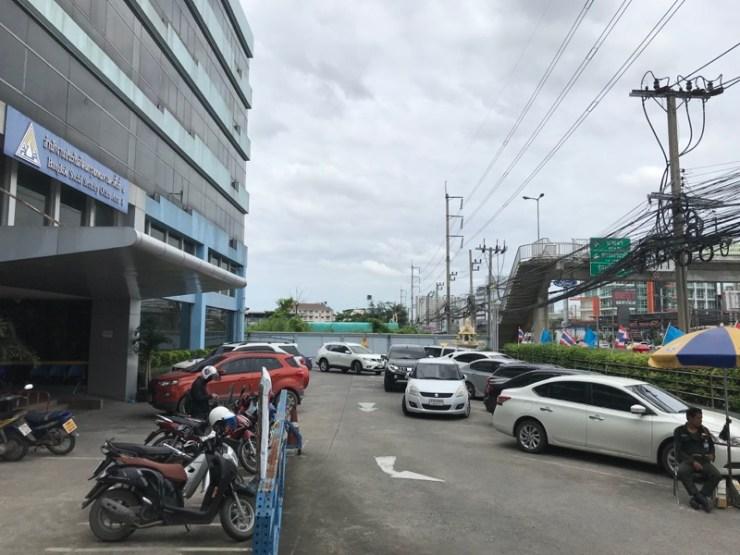 ที่จอดรถ - สำนักงานประกันสังคมกรุงเทพมหานครพื้นที่ 8