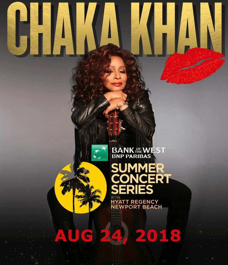 Chaka Khan Promo Image New Port Beach 2018