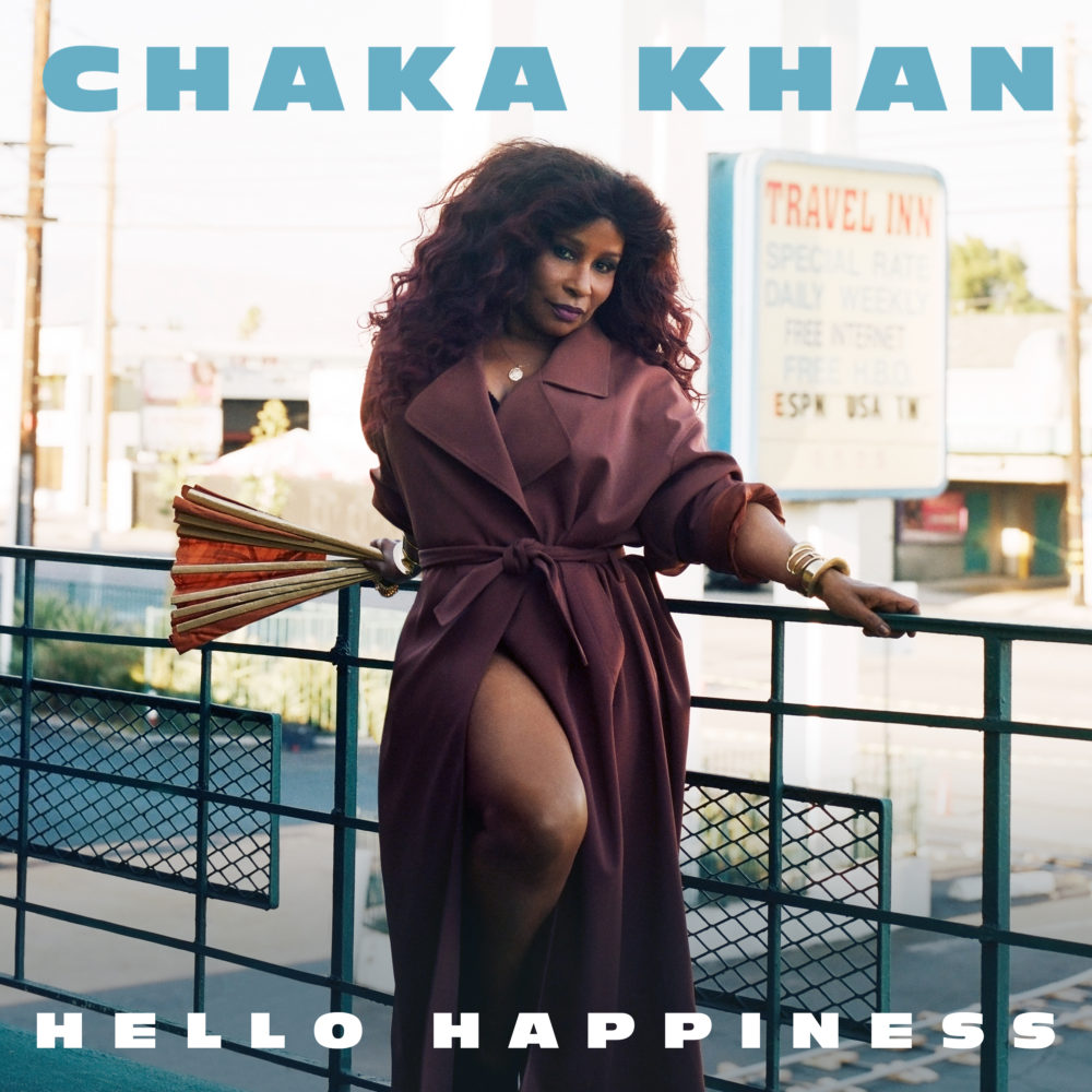 CHAKA KHAN #HelloHappiness Album Cover 1