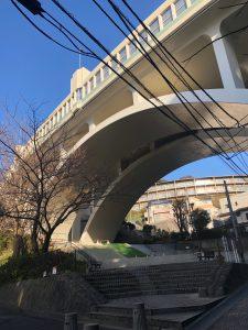 首都高狩場線高架橋