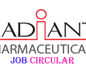 radiant pharmaceuticals limited job circular