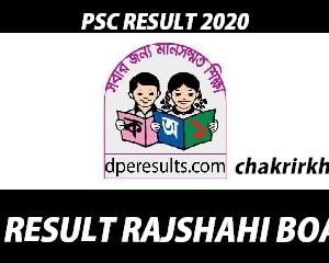 psc result rajshahi board
