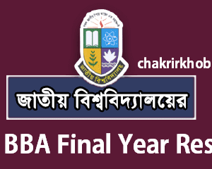 nu bba final year result