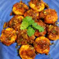 Prawn Manchurian Recipe | Shrimp Manchurian Recipe
