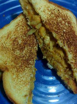 Channamasala Sandwich