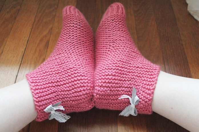 chausson laine