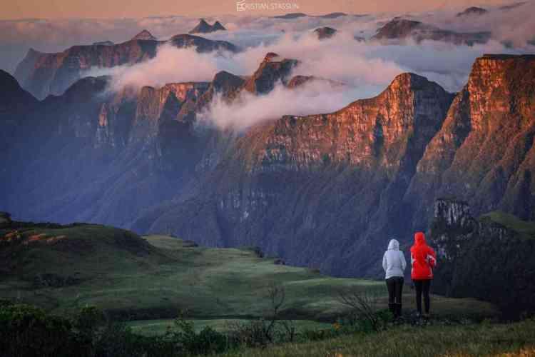 canion do espraiado em urubici chalé na montanha