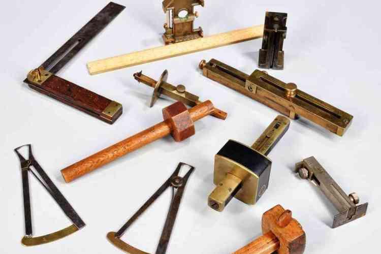 instrumentos de marcação