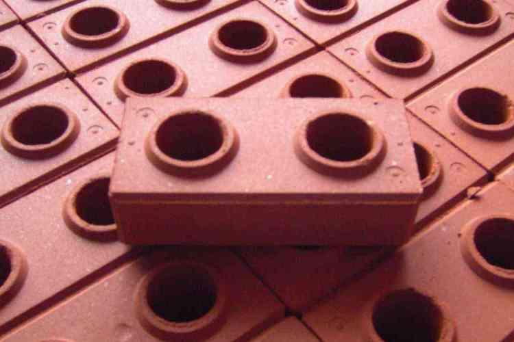 casas pré-fabricadas de tijolo ecológico