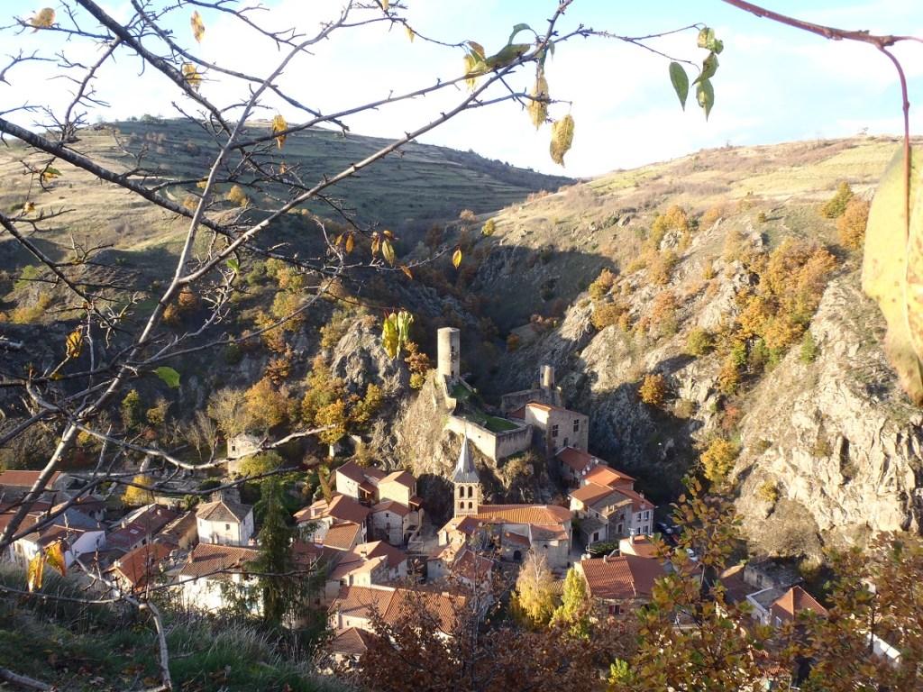 Le village de Saint-Floret