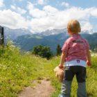 occuper les enfants à la montagne