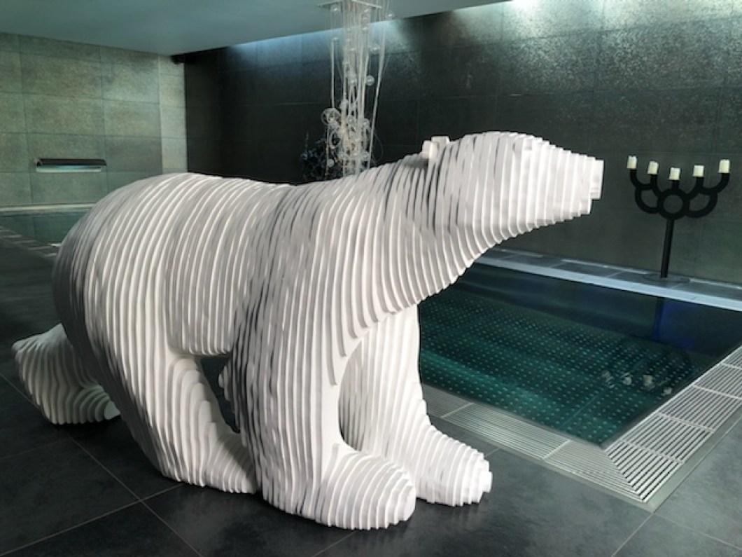 Michel Audiard Sculpteur Stylo rencontre avec michel audiard sculpteur de notre ours blanc