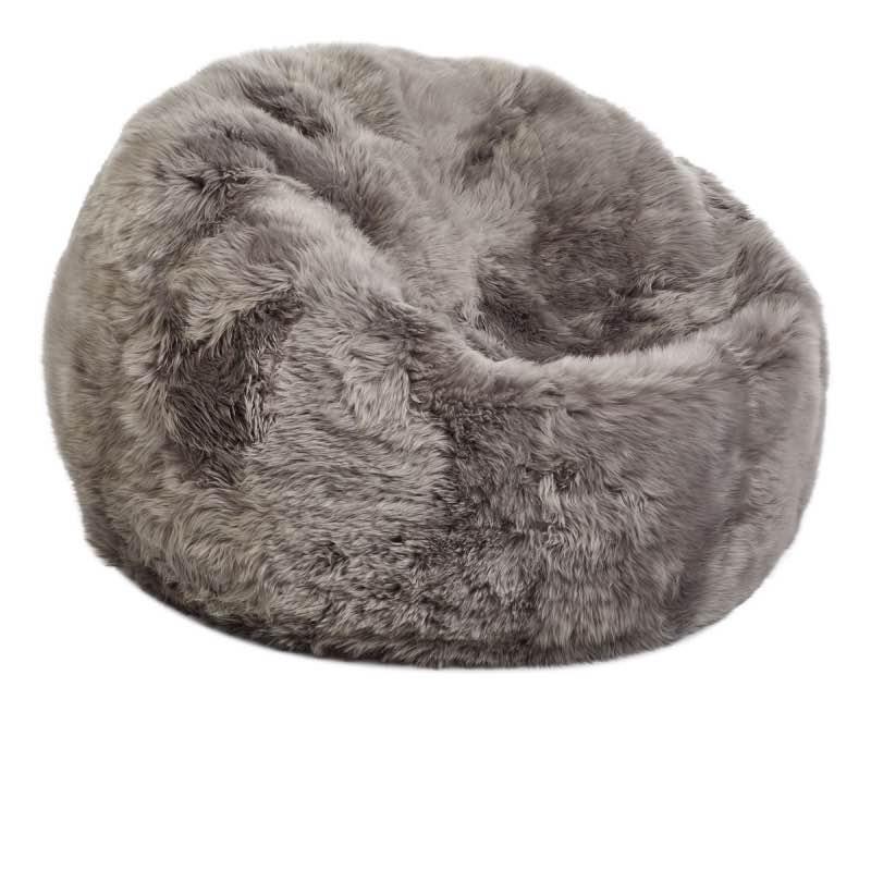 large long wool sheepskin