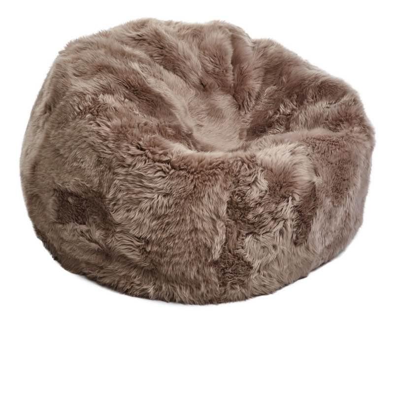 small long wool sheepskin