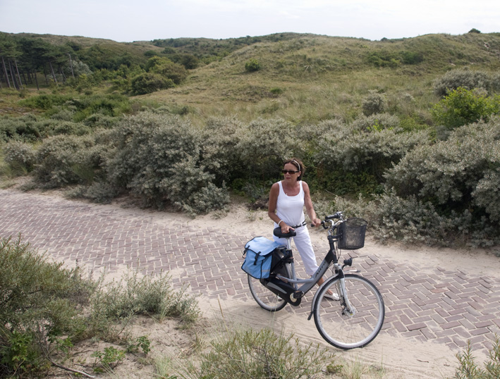 Bij ons verblijf bij Anneke breakfast kregen we hun fietsen aangeboden