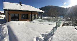 Terrasse spa hiver