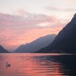 Zonsondergang Luganomeer - Chaletluganomeer.nl
