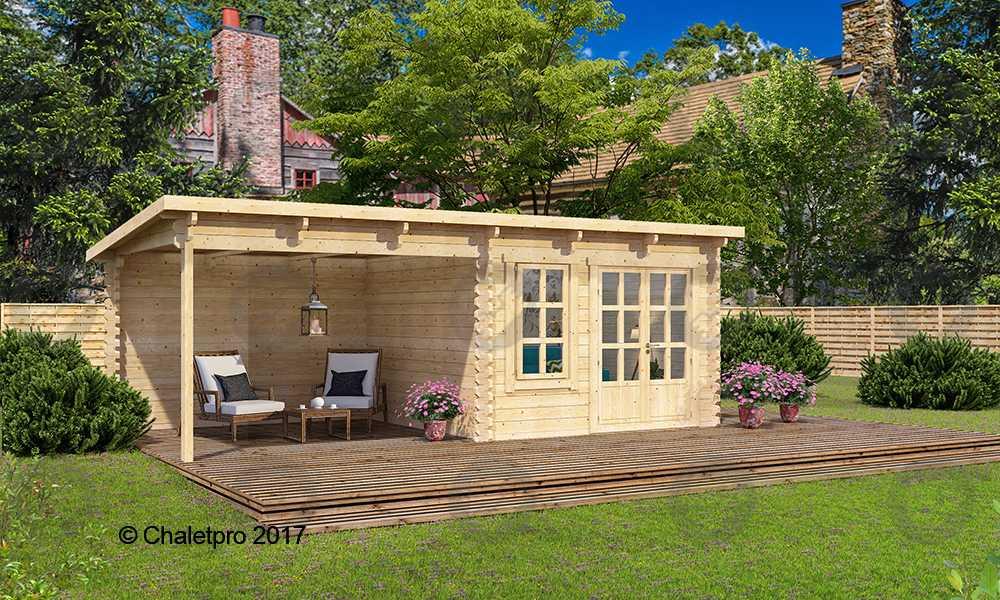 mon abris de jardin chalet cabane