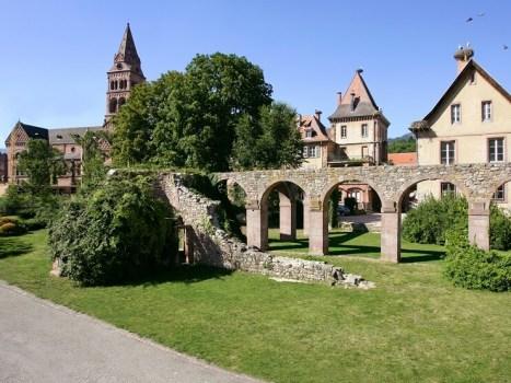 vestiges de l'abbaye de munster